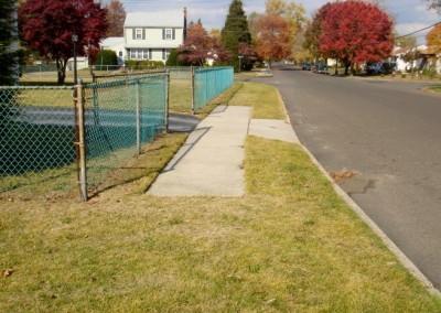 Incomplete Sidewalk