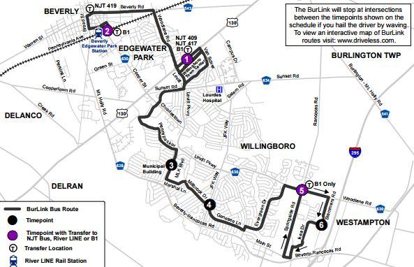 B2 Map